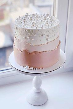 Elegant Birthday Cakes, Pretty Birthday Cakes, Pretty Cakes, Cute Cakes, Beautiful Cakes, Birthday Cake Designs, Beautiful Cake Designs, Small Wedding Cakes, Amazing Wedding Cakes