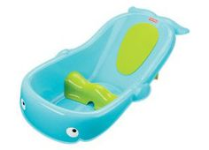 This is the best baby bath tub ever!!  I am still using it with my 9 month old. It's time to figure out another solution since the flips around in it and tries to climb out!