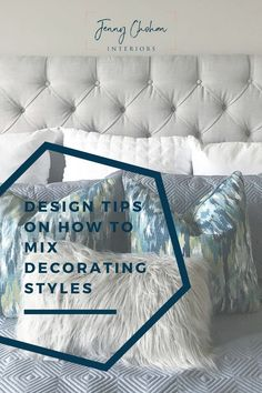 Do you know your decorating style? Most of us have more than one style. Let's talk about how you can mix your decorating styles together to make your home look cohesive #mixing decorating styles #edesign services #bedroom # interior decorating # interior design #interior decor # home decor