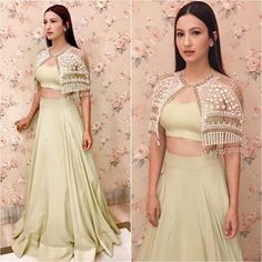 @gauaharkhan Outfit - @sanabarrejaofficial Styled by - @devs213 #bollywood #style #fashion #beauty #bollywoodstyle #bollywoodfashion #indianfashion #celebstyle #gauaharkhan #sanabarreja