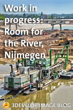 Visiting the Room for the River project between Nijmegen and Lent, about a year before completion