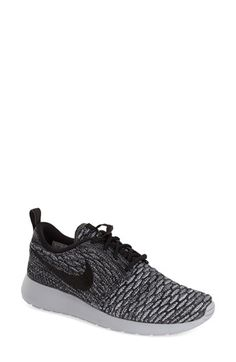 Nike FlyKnit Roshe Run Sneaker (Women) available at in peach #Nordstrom