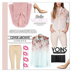 """Yoins contest"" by elmy1 ❤ liked on Polyvore featuring 7 For All Mankind, Whiteley and yoins"