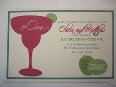 Fiesta Engagement Party Invitation by texasgirlsdesign on Etsy