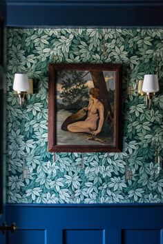 Entry1 cole & Son Fornasetti II Chiavi Segrete wallpaper