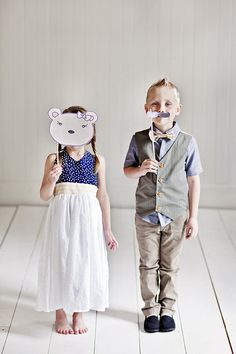 Ring Bearer Outfit // Vest - shirt - bow tie