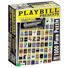 #Endless #games #playbill - best of broadway jugsaw puzzle: 1000 pieces,  View more on the LINK: http://www.zeppy.io/product/gb/2/142177220865/