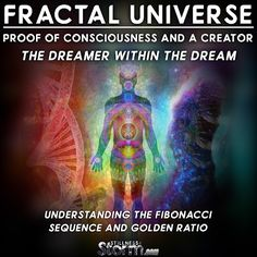 Fractal Universe | Proof of Consciousness and a Creator, the Dreamer within the Dream – Understanding the Fibonacci Sequence and Golden Ratio | Stillness in the Storm
