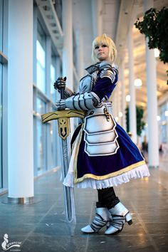 Saber from Fate/stay night Cosplay