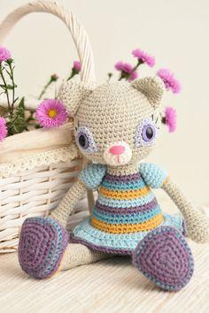 PATTERN  Hilda the Ragamuffin  crochet pattern by lilleliis