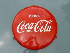 Online veilinghuis Catawiki: Reclame: Coca-Cola - ca. jaren 1950/60