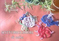 #Sottobicchiere #craft #hotglue http://www.lodicolofaccio.it/2015/07/sottobicchiere-facile-ed-estivo-con-colla-a-caldo-stampabile-free.html