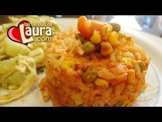 Arroz Rojo con Verduras Recetas Light Las Recetas de Laura - YouTube