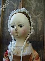 The Old Wooden Sisters: Queen Anne doll , royal baby available soon