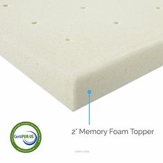 "LUCID 2"" Ventilated Memory Foam Mattress Topper, Full // Buy It now http://bestmattressreview.us/product/lucid-2-ventilated-memory-foam-mattress-topper-full/"