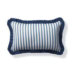 Elante Stripe Capri Outdoor Lumbar Pillow