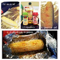 Flavorful Corn on the Cob Aromatische Maiskolben Oven Baked Corn, Oven Roasted Corn, Veggie Side Dishes, Vegetable Dishes, Vegetable Recipes, Corn In The Oven, Corn On Cob, Grilled Vegetables, Fruits And Veggies