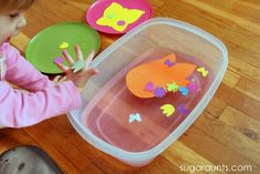 Spring Sensory and Fine Motor Play Date Activity
