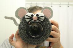 Lens Buddy Shutter Helper Mouse photography lens door cheesypickles
