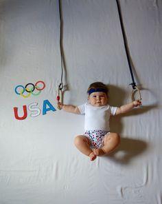 Creative baby photos
