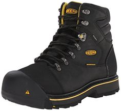 Looking for KEEN Utility Men's Milwaukee Waterproof Work Boot ? Check out our picks for the KEEN Utility Men's Milwaukee Waterproof Work Boot from the popular stores - all in one. Most Comfortable Work Boots, Waterproof Steel Toe Boots, Steel Toe Cap Boots, Good Work Boots, Shoe Boots, Men's Shoes, Boot Brands, Moda Fashion, Boots Online