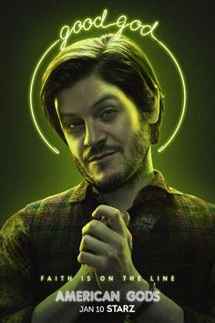 Need access to the horde? Lucky for you, there's a new leprechaun on the scene. #AmericanGods #STARZ Survivor's Remorse, Iwan Rheon, The White Princess, New Movie Posters, Fiction Film, Magic City, Black Sails, American Gods, The Girlfriends