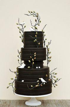 Black Wedding Cake!