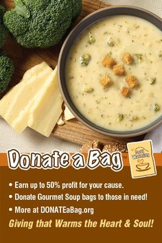 Please Contact us to Earn money for your Cause and Donate Bags of Soup to those in need! info@soulwarmingfundraising.com Raise Funds, Cheeseburger Chowder, Earn Money, Fundraising, Soup, Friends, Bags, Gourmet, Amigos