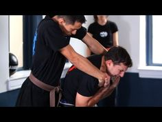 How to Defend Yourself Against a Rear Choke | Krav Maga Defense