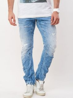 VOI JEANS Ripped Twisted Fit Skinny Denims now in india by koovs ...