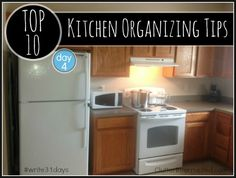 Can't afford remodeling your kitchen? Why not make it a little more efficient using our Top 10 Kitchen Organizing Tips. Surprisingly simple ideas you can implement today that won't break the budget.
