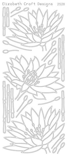 Elizabeth Craft Designs PeelOff Sticker 2528B by PNWCrafts on Etsy, $1.99