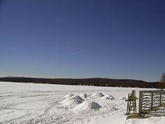 Lac-Mégantic en Estrie Snow, Beach, Water, Outdoor, City, Gripe Water, Outdoors, Seaside, The Great Outdoors