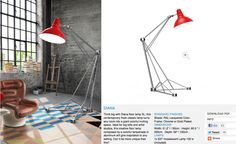 http://delightfull.eu/floor/diana_unique_floor_lamp.html    Have you shred our new piece from our website? Visit and share it... we want to reach 100 likes and 100 tweets ;)