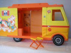 Camping-car Barbie vintage années 70