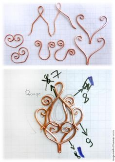 Tutorial wire pendant