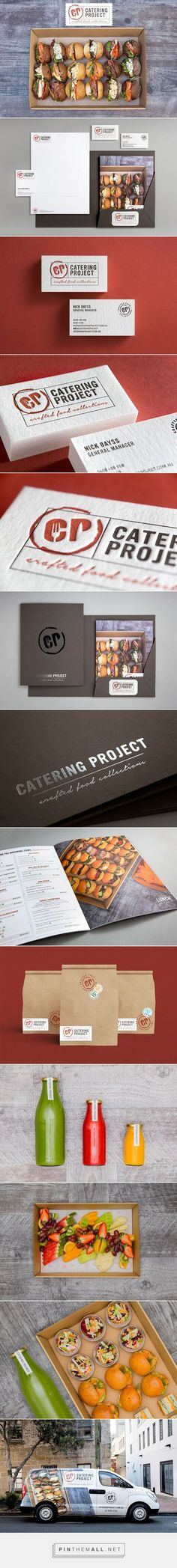 Catering Project on Behance... - a grouped images picture - Pin Them All
