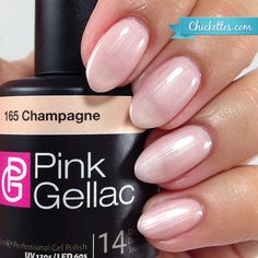 #165 Pink Gellac Champagne :: Gel Colors :: Chickettes Boutique