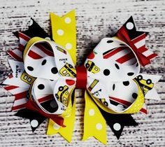 Back 2 School 6in Boutique Bow