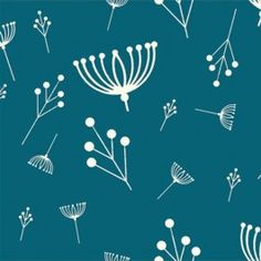Charley Harper KNITS Twigs in Teal
