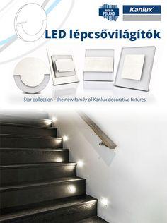 A lépcsővilágítások nemcsak praktikusak, hanem szépek is!   Hangulatos fényükkel kellemesebbé tehetjük a lépcsőházat, de mégis az a legfontosabb jellemzőjük, hogy mankót nyújtanak az éjszaka sötétjében - így megteremtve a lépcsőn való biztonságos közlekedés lehetőségét!   Ledes lépcsővilágítók nagy választékban az ANRO Épületdíszítés Kft-nél!