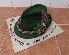 dort - myslivecký klobouk / cake - hunting hat