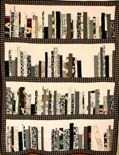 the book quilt. Imagine being curled up in a favourite chair with your favourite book and this quilt wrapped around you. sublime x Quilting Projects, Quilting Designs, Sewing Projects, Quilting Ideas, Sewing Ideas, Quilt Design, Diy Projects, Book Quilt, Quilt Art
