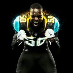 NFL Jersey's Men's Jacksonville Jaguars Telvin Smith Nike Black/Teal Game Jersey