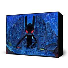 DJ BlackRabbit Mini Art Block, $28, now featured on Fab.