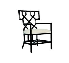 Santorini Dining Arm Chair : Dining Chairs : Style : Indoor Furniture : The Wicker Works