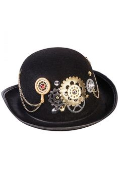 Steampunk Derby Hat This Steampunk Derby Hat is the perfect item to  complete your steampunk ensemble c994d7304a52