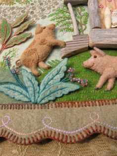 This is quickly turning into a Salley Mavor board! Her felt work is so delicious.