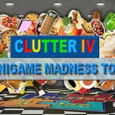 Clutter 4: Minigame Madness Tour Game - Free Download Put your attentiveness on display and turn chaos into order!
