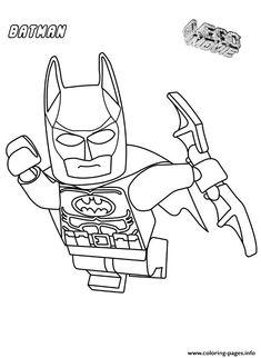Print Batman Movie Coloring Pages